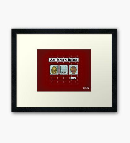 Rare Items Framed Print