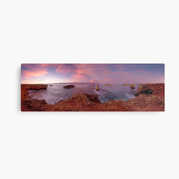 Early Dawn at the Bay of Islands Metal Print
