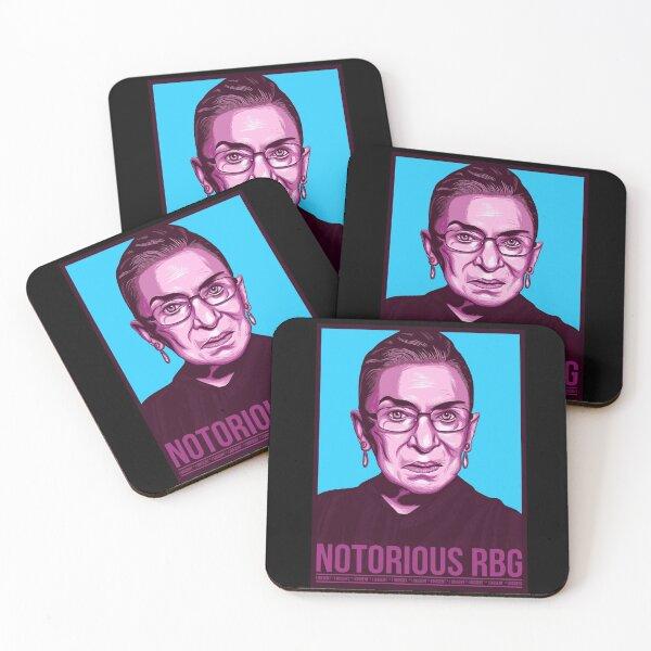 notorious rbg Coasters (Set of 4)