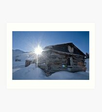 Sunrise over Mayflower Gulch Art Print