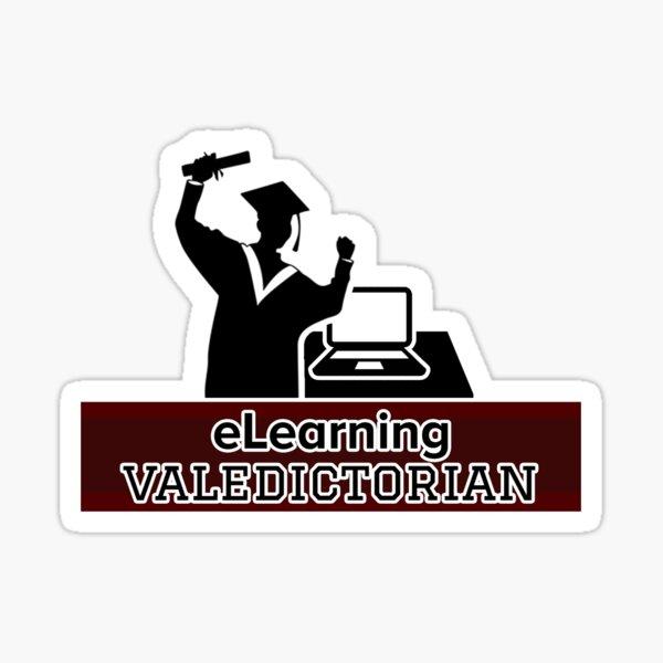 eLearning Valedictorian Sticker