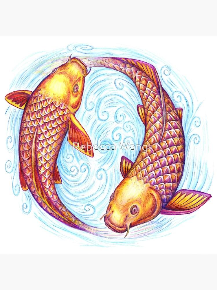 Pisces Fish Yin Yang Mandala by lioncrusher