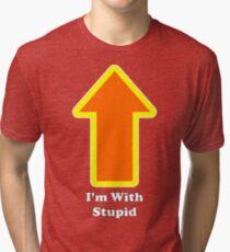 I'm With C.J. Tri-blend T-Shirt