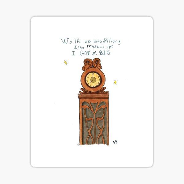 Big Clock Sticker