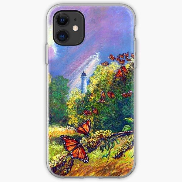 "Iphone Case ""Monarch Protuberance-St. Marks Light"" iPhone Soft Case"