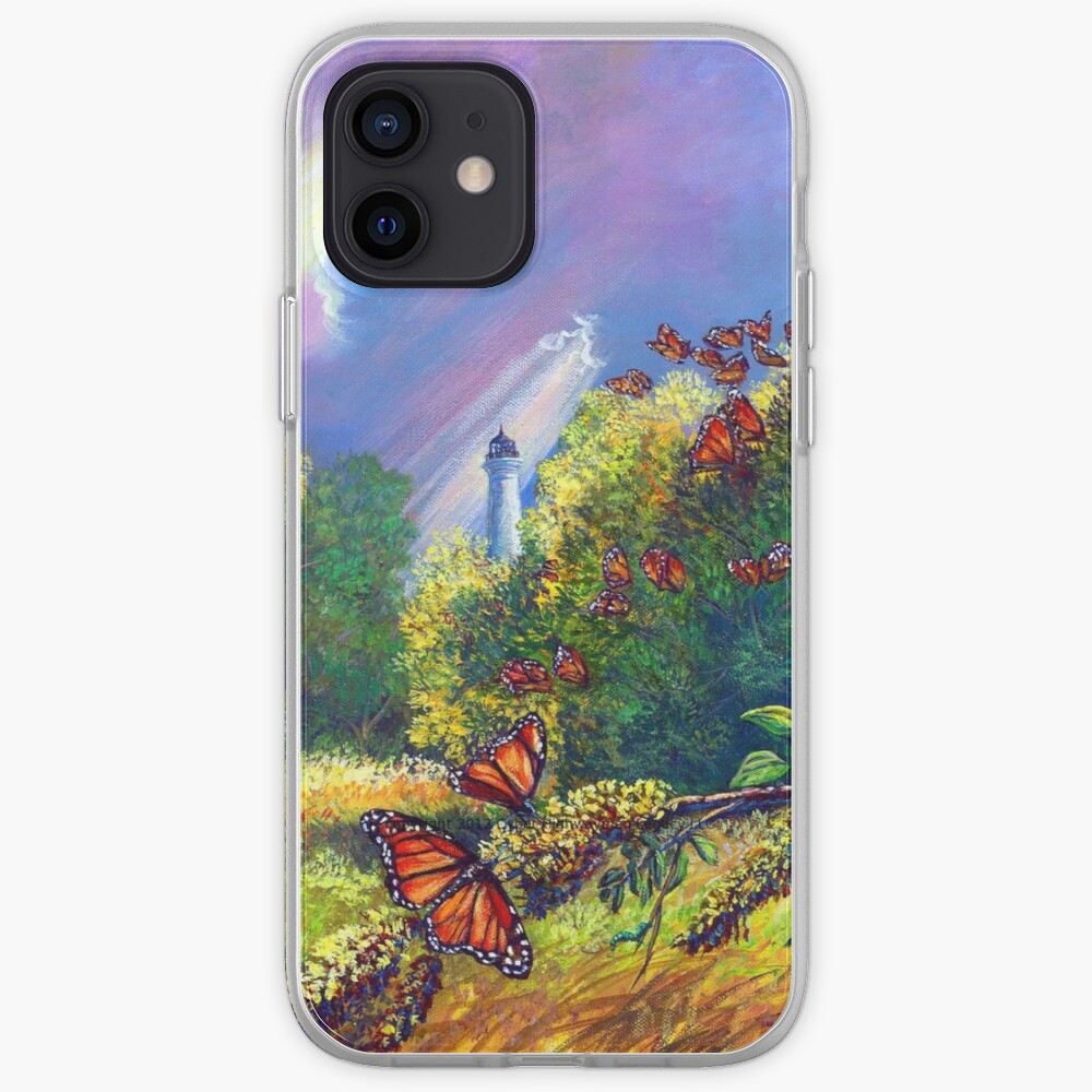 """Iphone Case """"Monarch Protuberance-St. Marks Light"""" iPhone Case & Cover"""