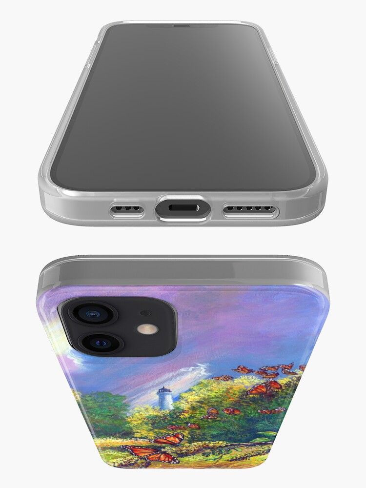 """Alternate view of Iphone Case """"Monarch Protuberance-St. Marks Light"""" iPhone Case & Cover"""