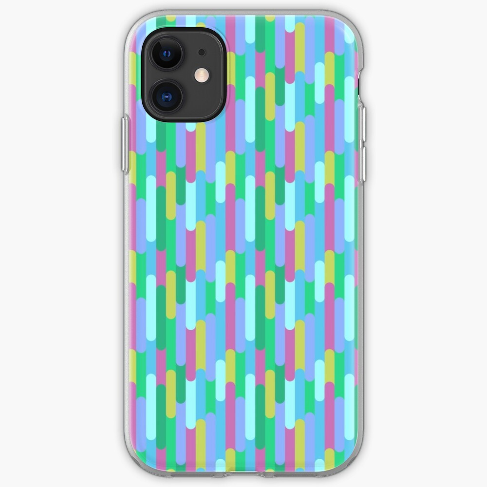 Overlapping Stripes pastel iPhone Case & Cover