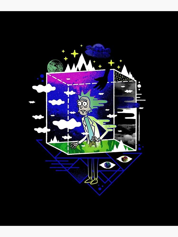 Dimensional Rick by ordinaryfox
