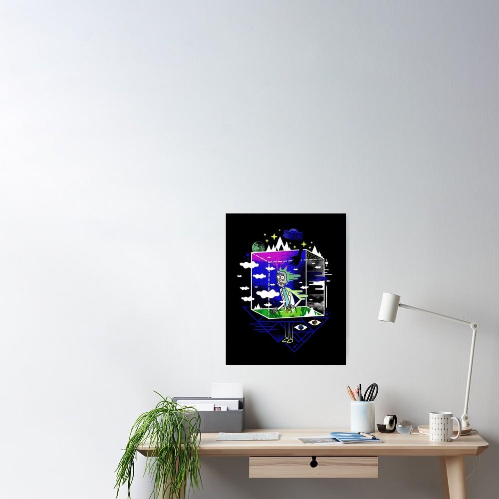 Dimensional Rick Poster