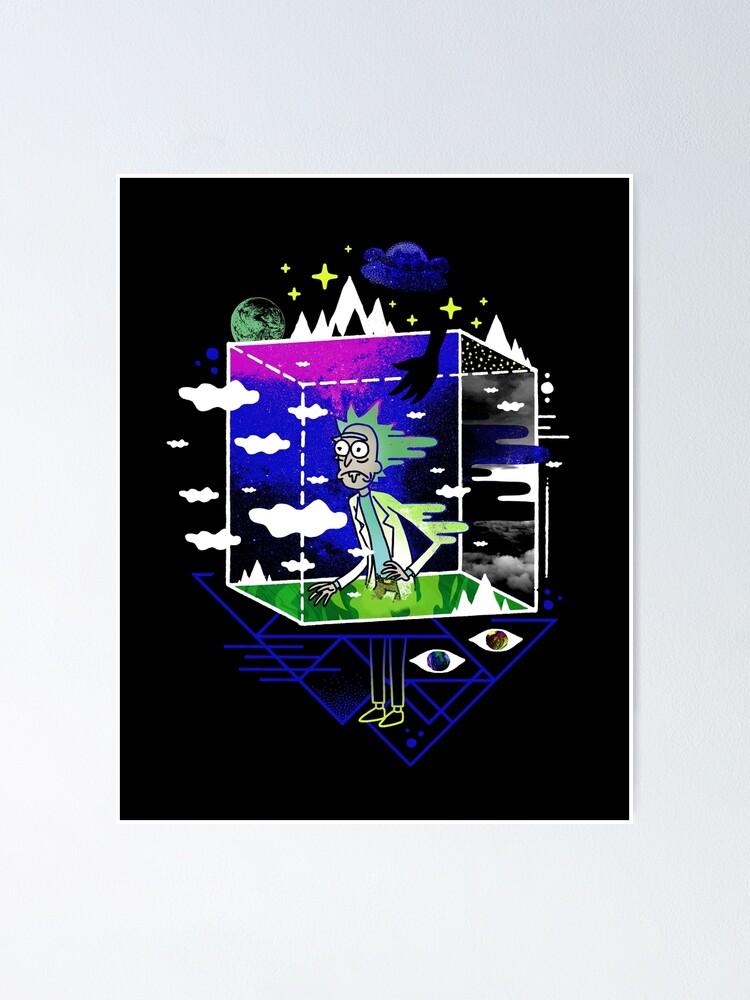 Alternate view of Dimensional Rick Poster