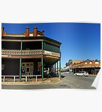 Commercial Hotel at Junee Poster