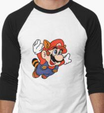 Tanooki Mario Men's Baseball ¾ T-Shirt