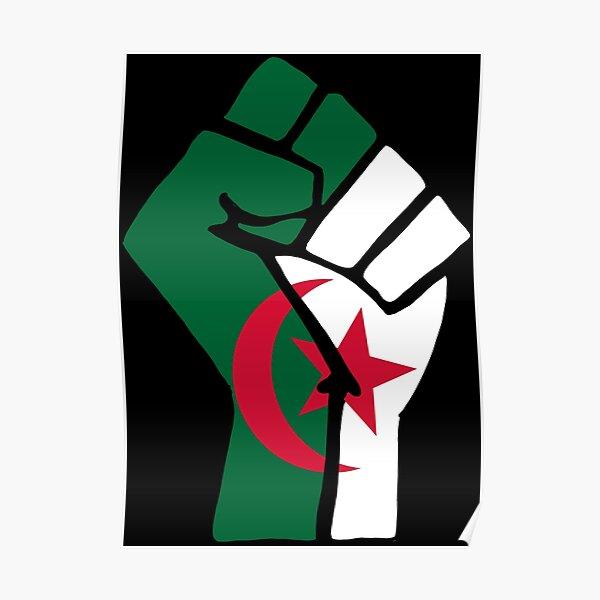 Algeria Rise Up! Poster
