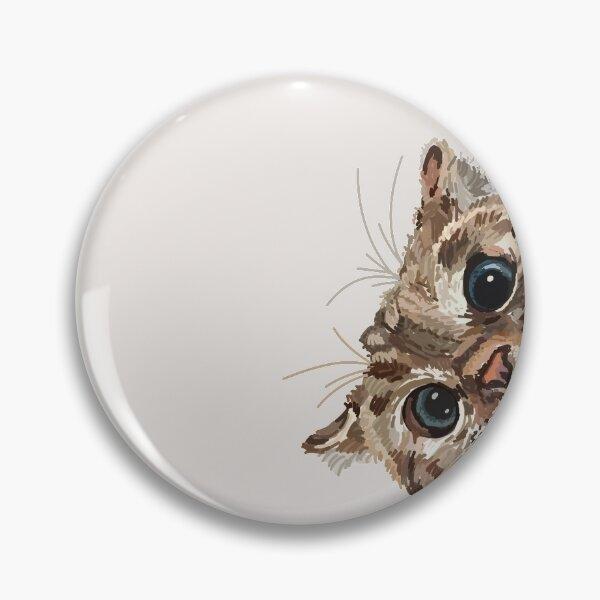 Peeking Cat Pin