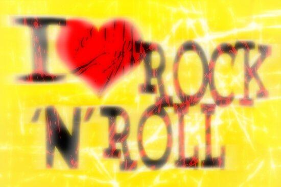 I love Rock 'N' Roll by Nhan Ngo