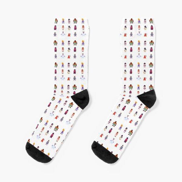 FF7 Pixel Character Socks