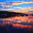 Sunrise @ Middle Harbour by Arfan Habib