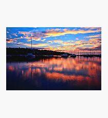 Sunrise @ Middle Harbour Photographic Print