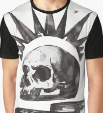 Chloe's Shirt - Misfit Skull Graphic T-Shirt