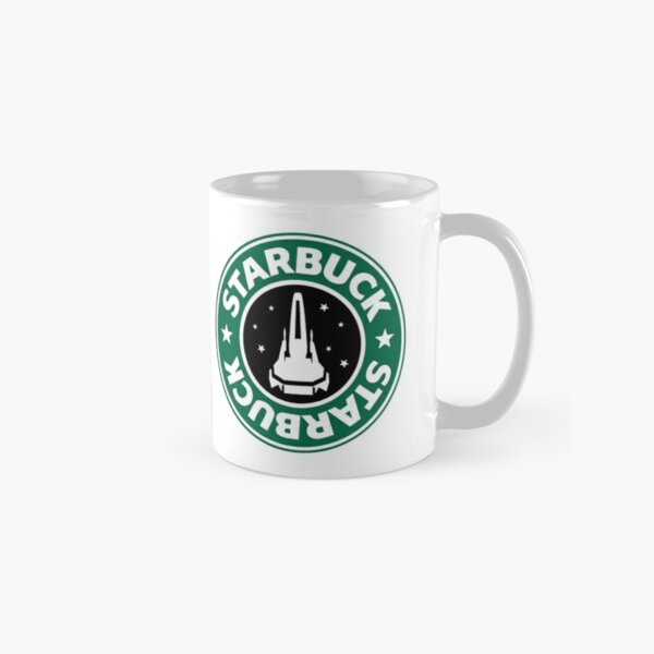 Starbuck hold the S Classic Mug