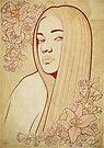 Art Nouveau Portrait by ArtNouveau