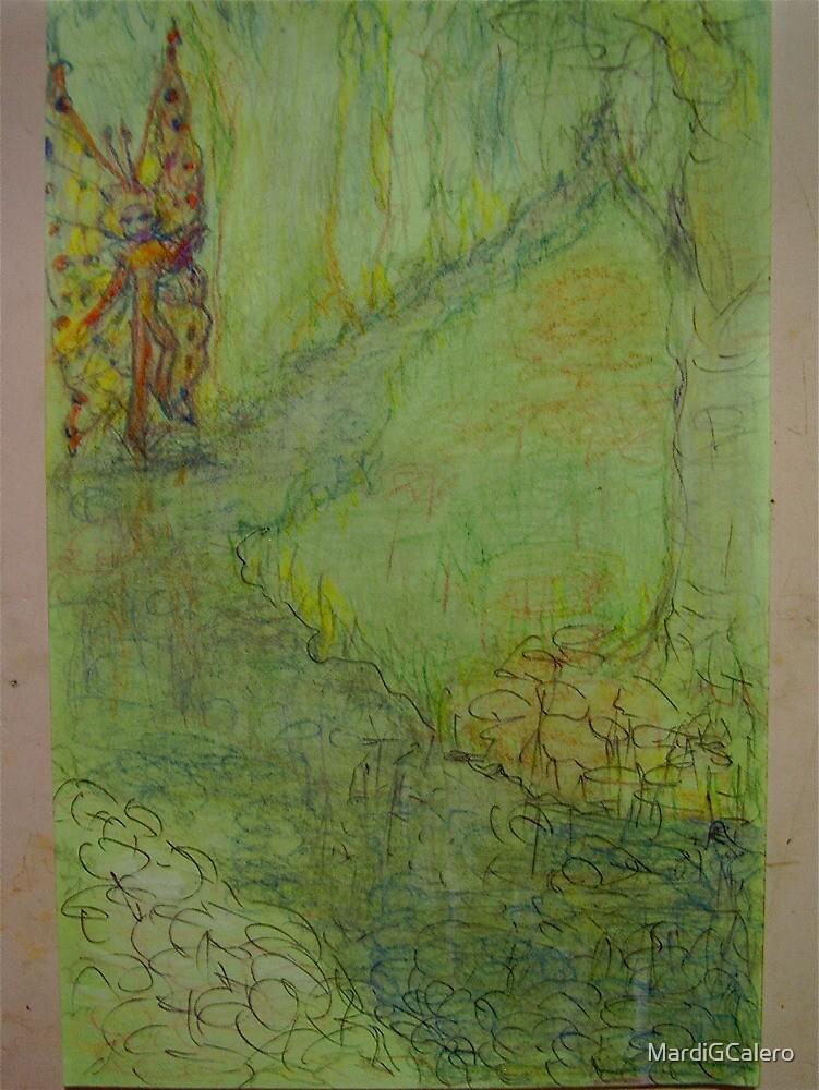 Muontain Stream  Fairy by MardiGCalero