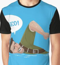 Marco Polo (Nathan Drake from Uncharted) Graphic T-Shirt