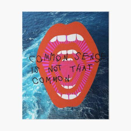 COMMON SENSE Art Board Print