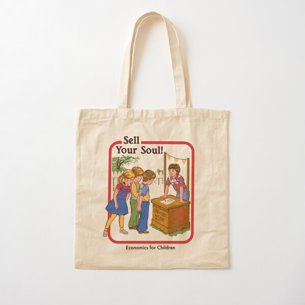 Sell your Soul Cotton Tote Bag