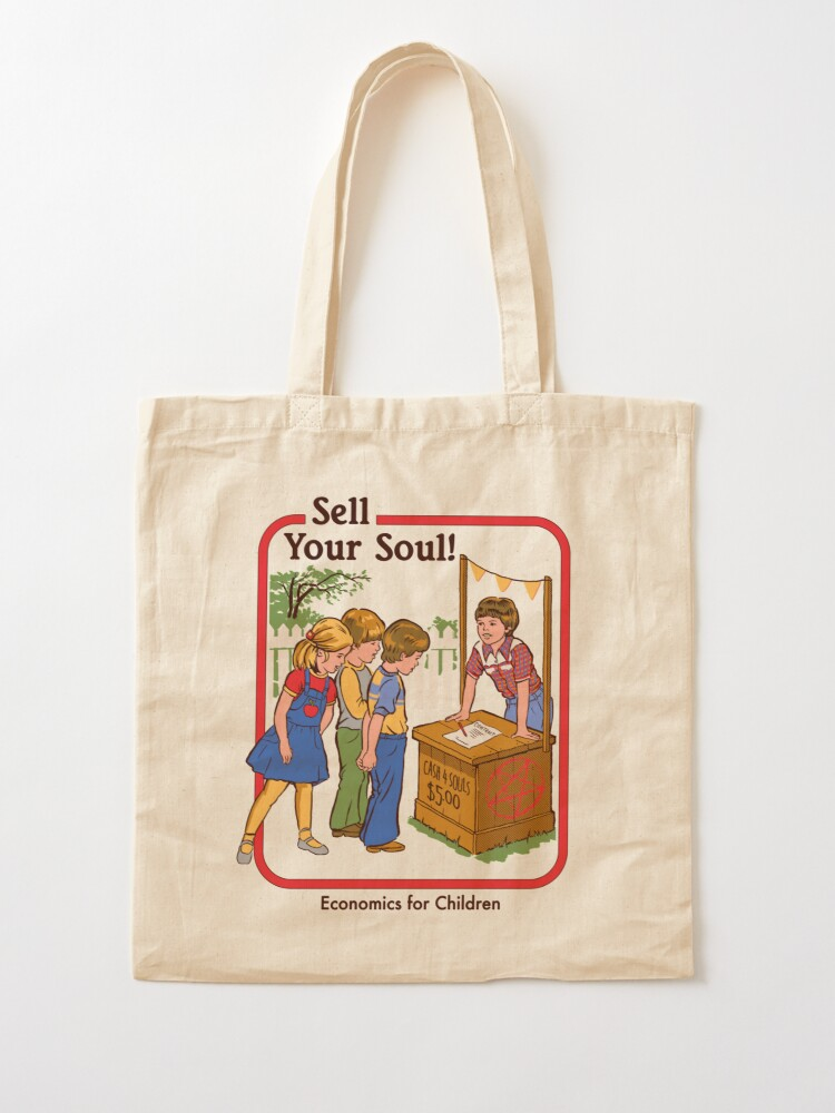 Alternate view of Sell your Soul Tote Bag