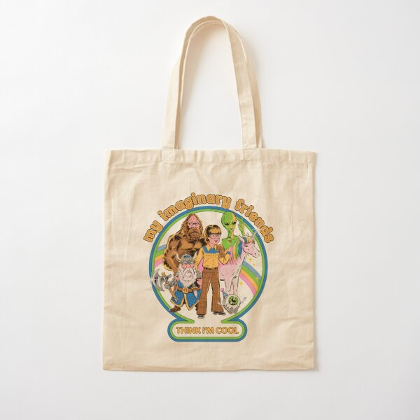 My Imaginary Friends Cotton Tote Bag