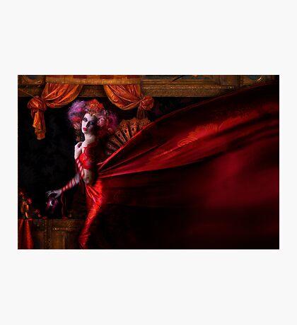 Madame Carnival Photographic Print