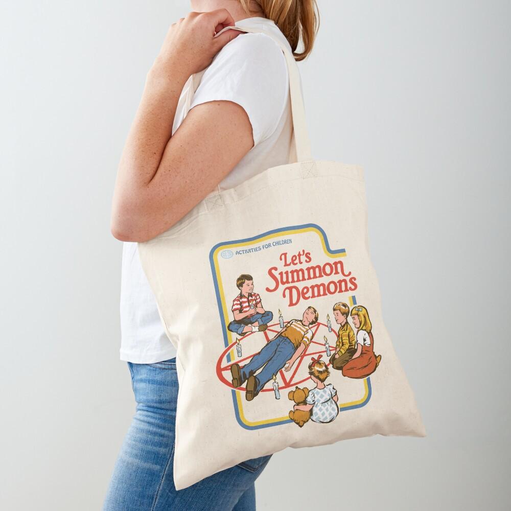 Let's Summon Demons Tote Bag