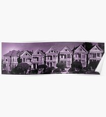 The Painted Ladies Aged Image Poster