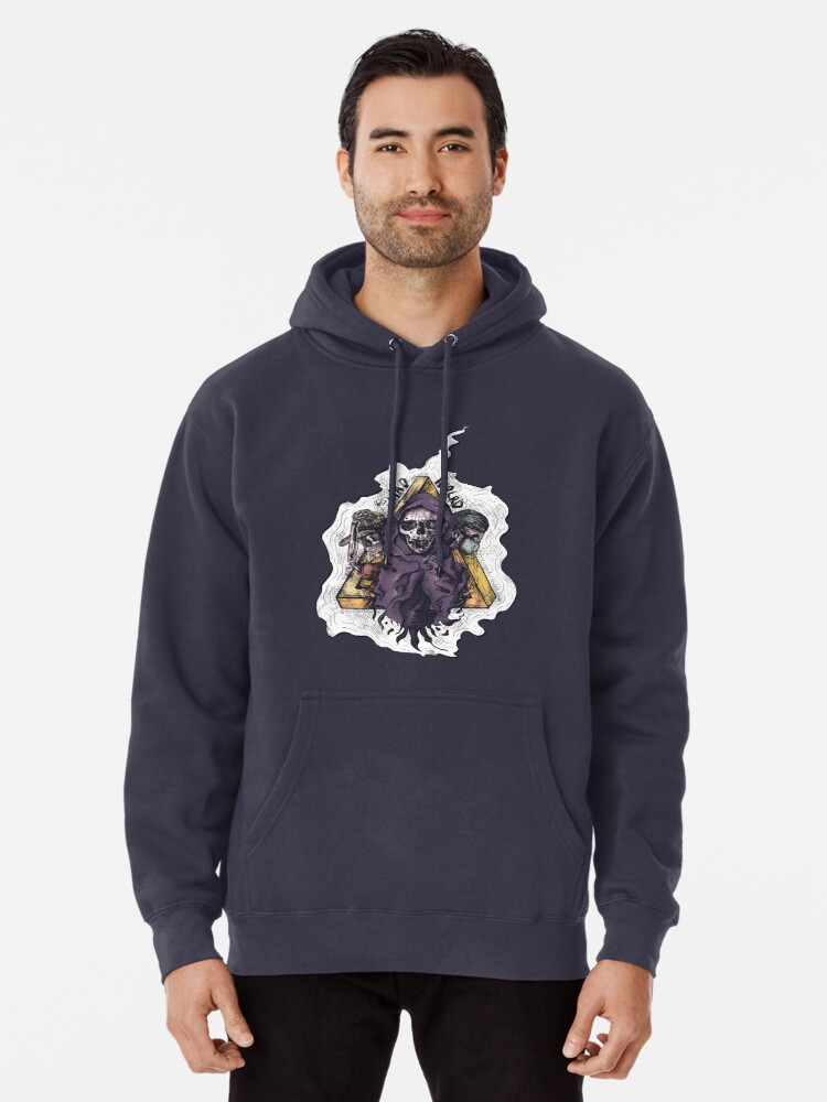 Alternate view of mad world. Pullover Hoodie
