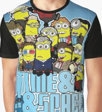 Time and Space and Bananas Graphic T-Shirt