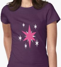 Twilight Sparkle Cutie Mark - My Little Pony Friendship is Magic Women's Fitted T-Shirt
