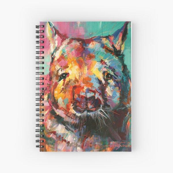 Wombat Spiral Notebook