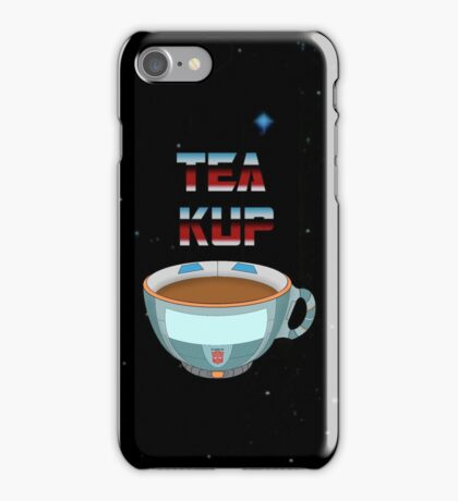 Tea Kup iPhone Case/Skin