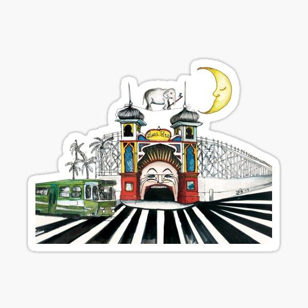Luna park Sticker