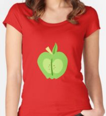 Big Macintosh Cutie Mark - My Little Pony Friendship is Magic Women's Fitted Scoop T-Shirt