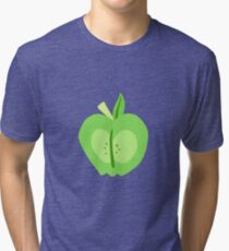 Big Macintosh Cutie Mark - My Little Pony Friendship is Magic Tri-blend T-Shirt
