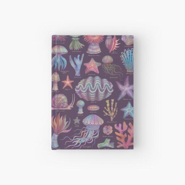 Sea life specimens I Hardcover Journal