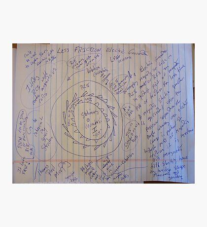 0160 LESS FRICTION ELECTRIC GENERATOR LFEG 01102012 Photographic Print