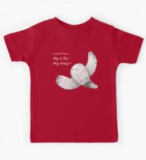I will live My Life, My Way~ Dark Tshirt Kids Clothes