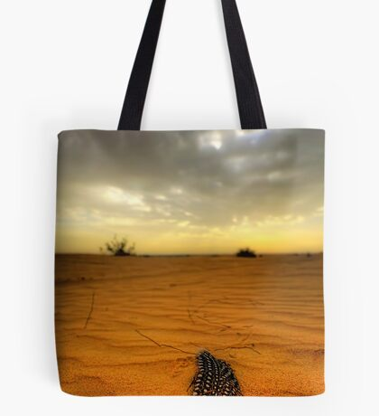 Desert Feather Tote Bag