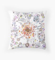 Intracellular Diversion -pls view large Throw Pillow