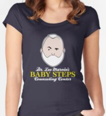 Baby Steps Counseling Center Women's Fitted Scoop T-Shirt