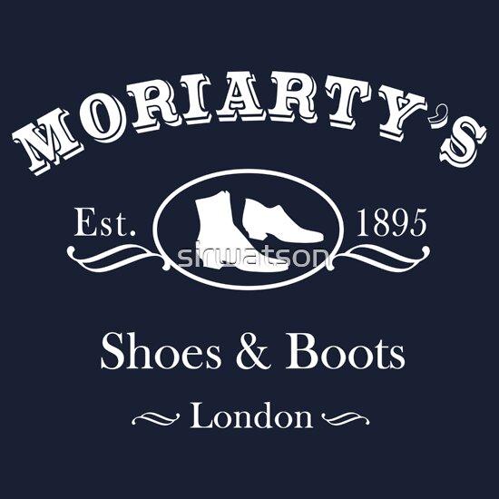 TShirtGifter presents: Moriarty's Shoe Shop